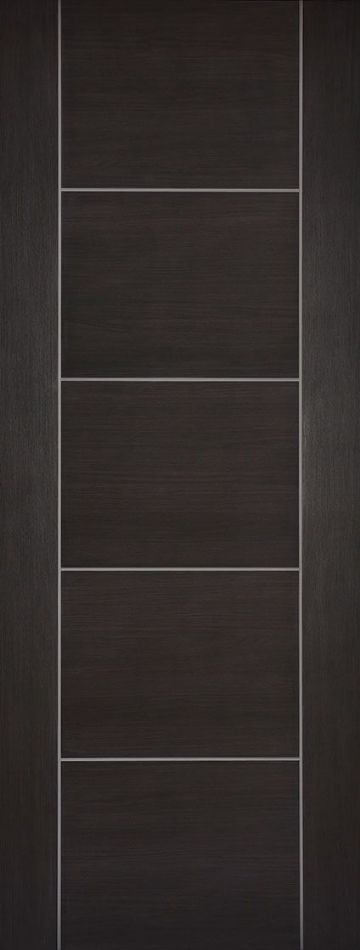 Dark Grey Laminated Vancouver Fire Door